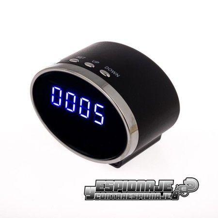despertador mini cámara oculta