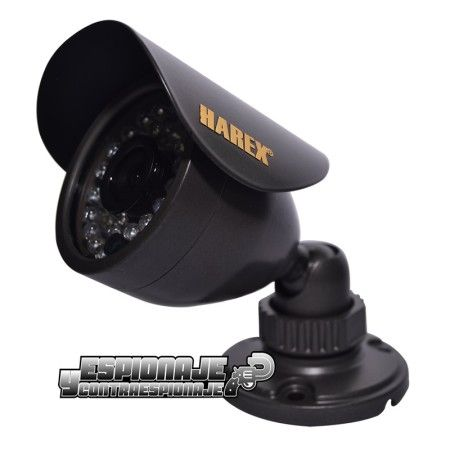 cámara de videovigilancia exterior