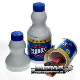 botella limpiador ocultación