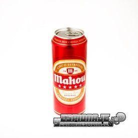 lata de cerveza grande ocultación
