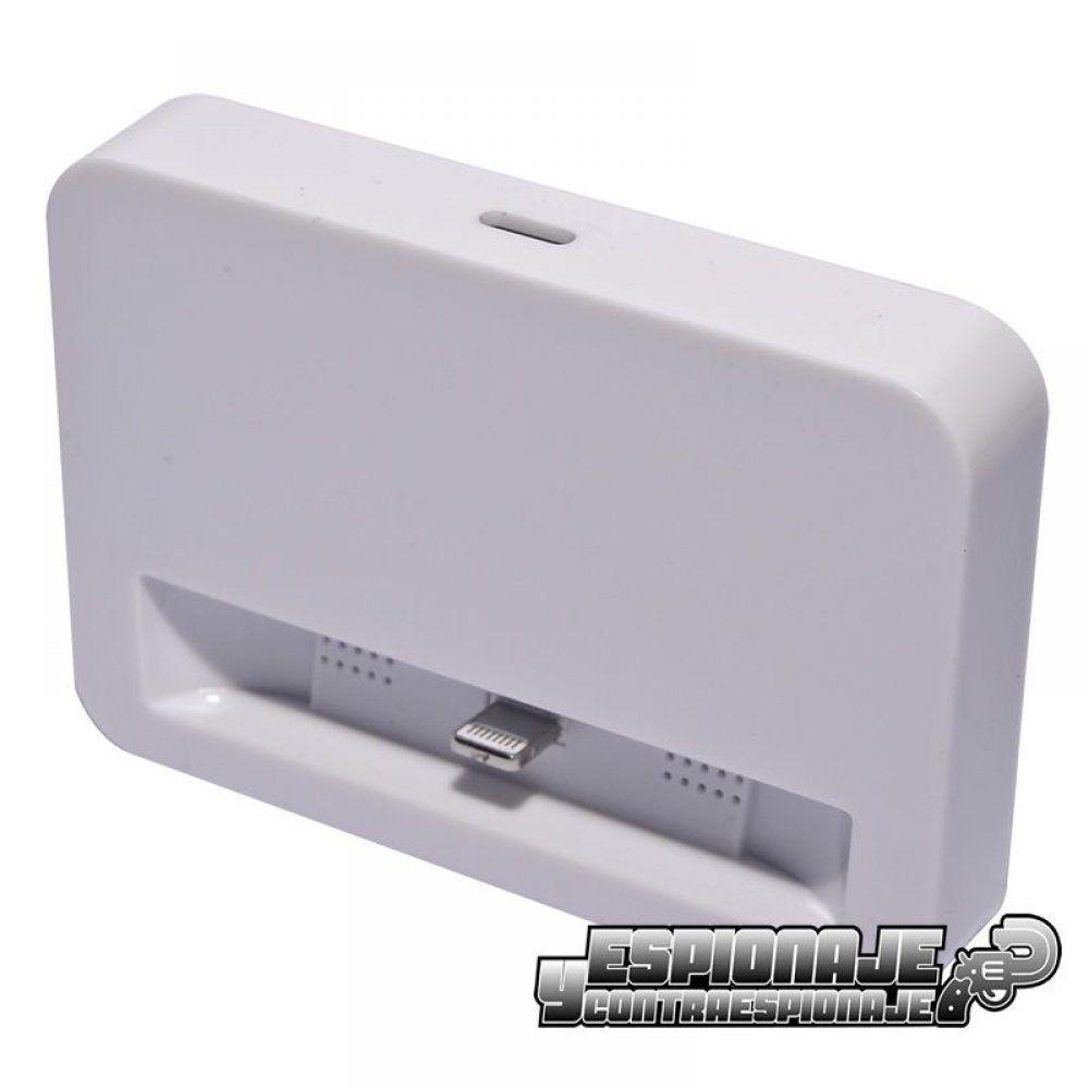 0c61c515706 Micrófono GSM para espiar en cargador iphone - Espionaje