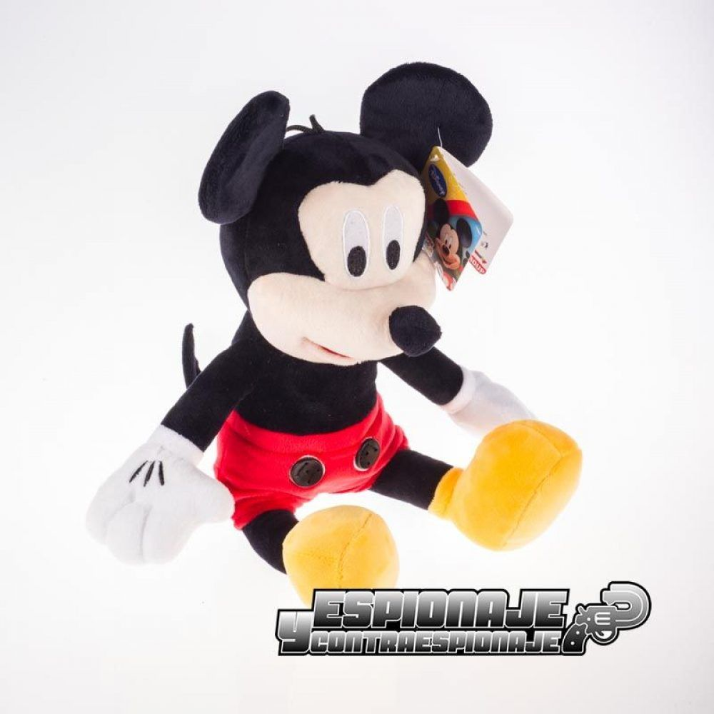 mickey mouse con mini cámara oculta