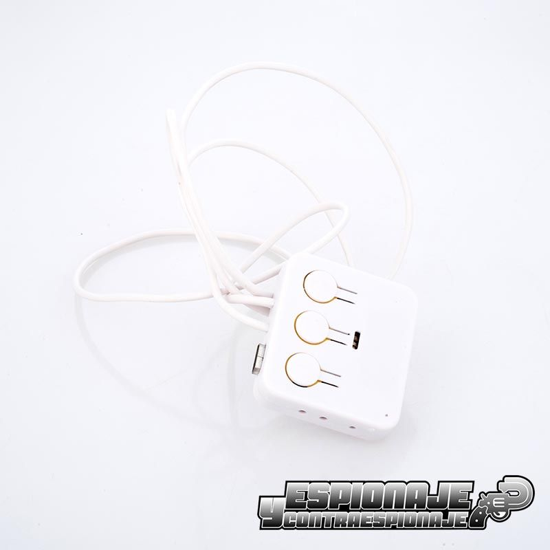 Collar de induccion bluetooth blanco